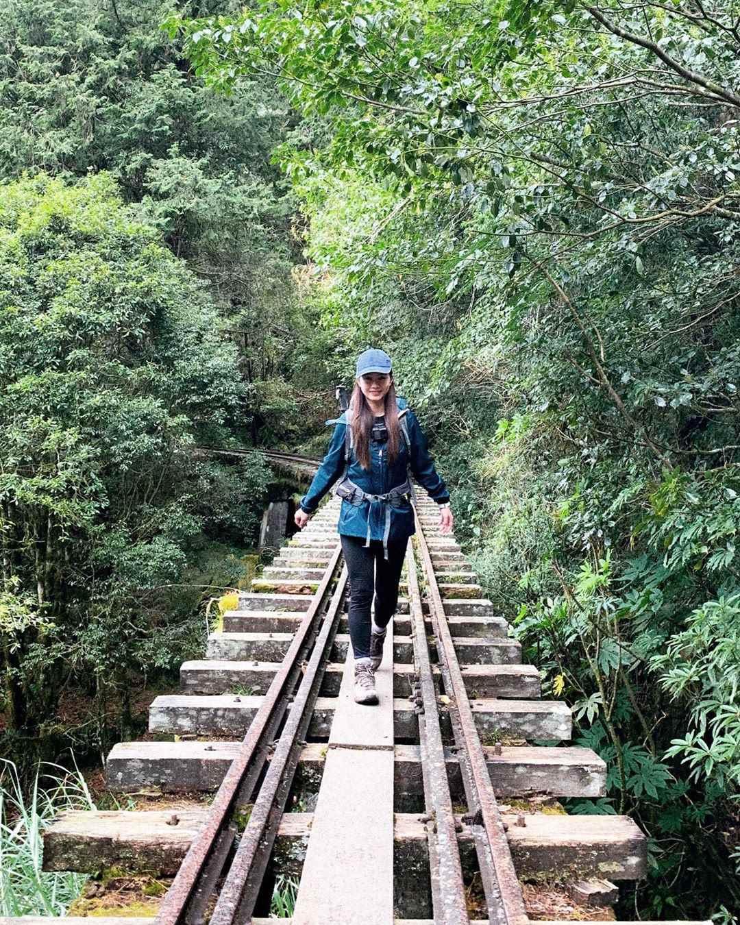 阿里山景點 眠月橋