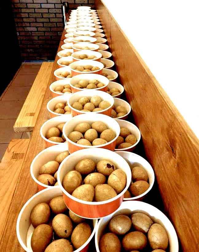 客人預定的超大量茶葉蛋