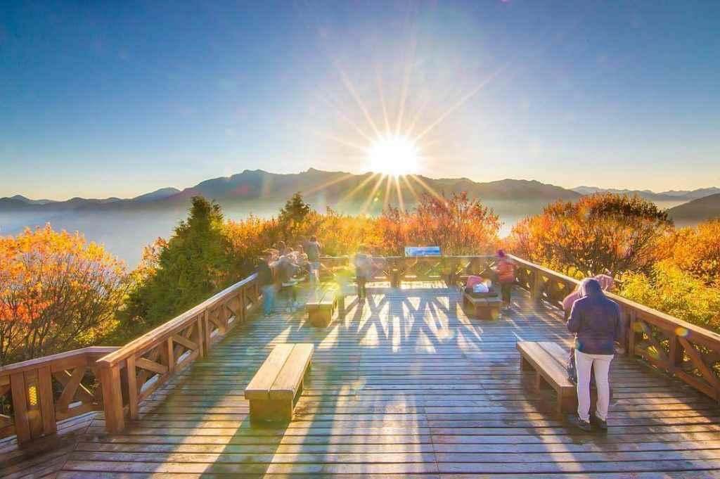 阿里山景點2020 小笠原觀景台