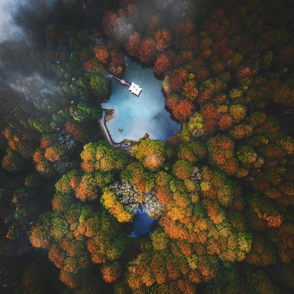阿里山森林遊樂區景點推薦 姊妹潭