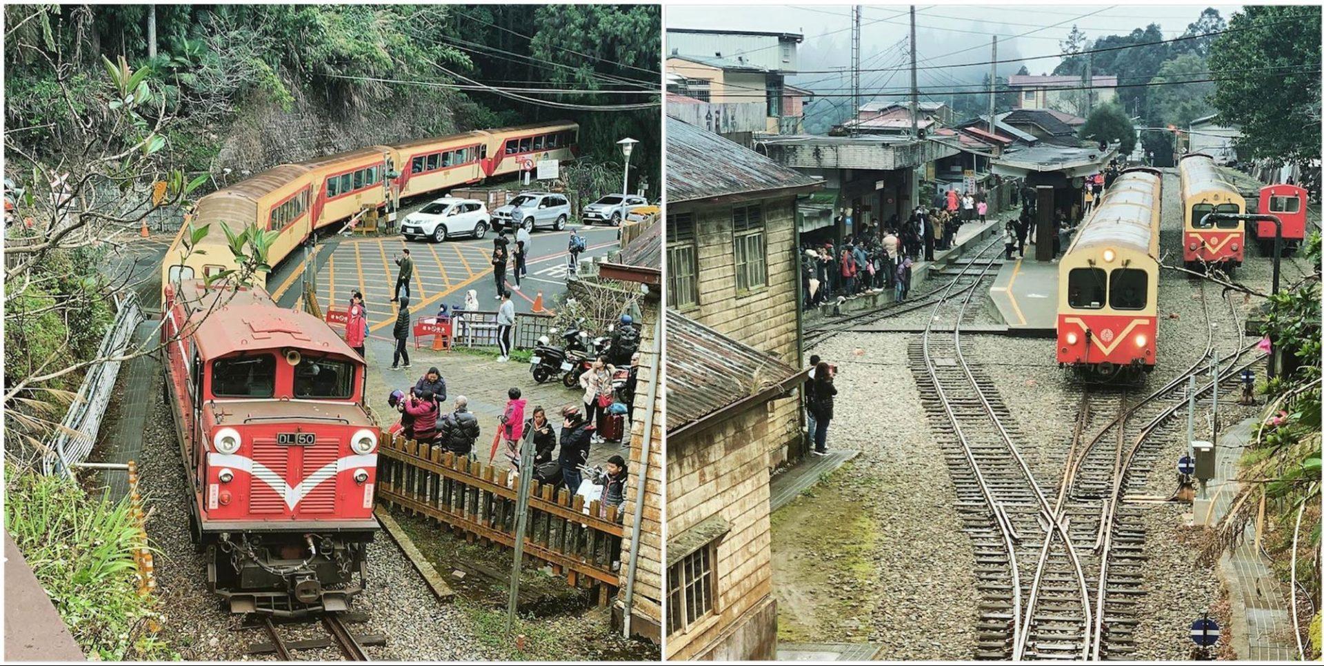 阿里山小火車訂票攻略 奮起湖車站